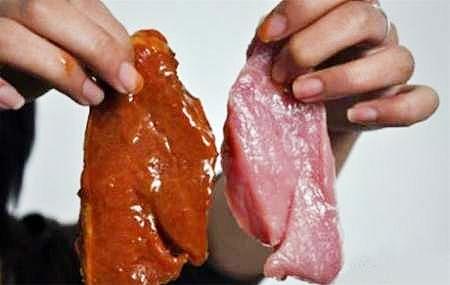 گوشت تقلبی