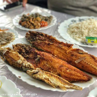 ماهی خوری رستوران مرادی دستک کیاشهر